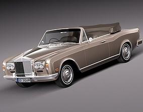 3D Rolls-Royce Corniche 1971-1997