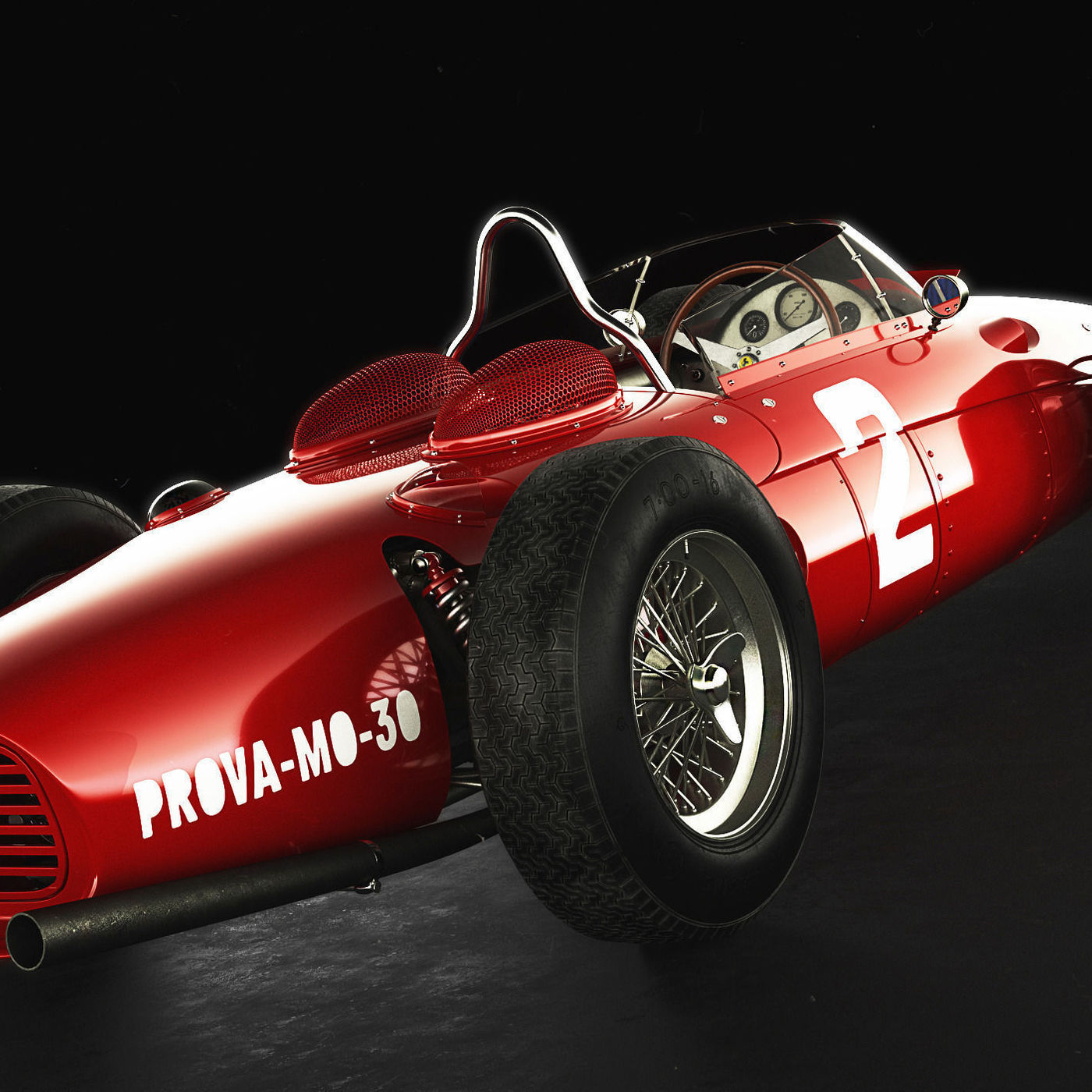 Ferrari Dino 156 F1, Sharknose
