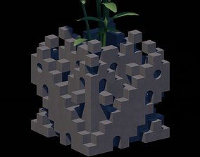 3D Geometrical Desktop Planter