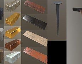 3D model Craft survival tools puck