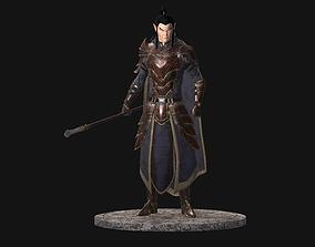 Elf Warrior 3D model