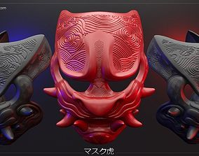 3D printable model Samurai Mask other