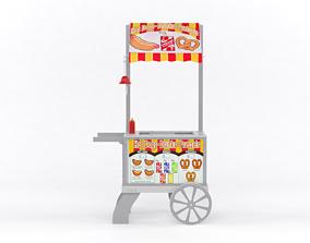 Food Cart various-models 3D