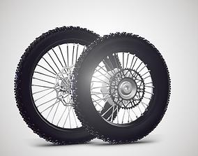 3D asset Motorcycle Tire