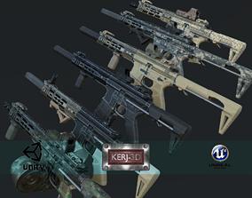 3D model Modular Combat Rifle-Close Quarter Combat 1