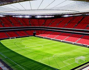 San Mames Stadium - Bilbao Spain 3D asset