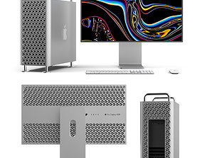Mac Pro 2019 and Pro Display XDR 3D
