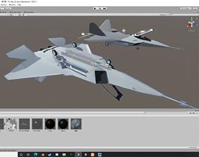 3D asset YF-22
