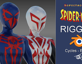 3D model Spectacular Spider - Man 2099 Package