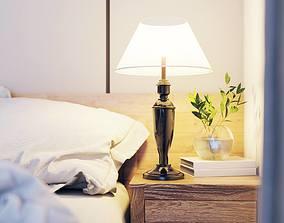 animated bedroom design 3d model