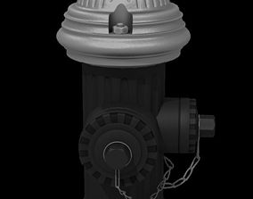 Fire Hydrant 3D exterior hydrant