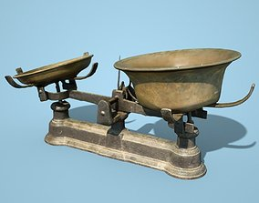 Old Rusty Scale 3 3D model