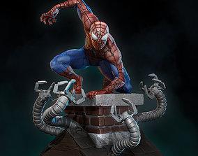 Spider man Statue 3D print model