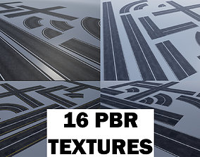 3D model PBR Modular Road Pack cracked