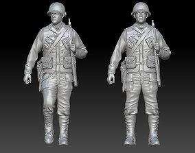 3D print model Captain Miller