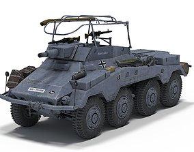 3D model Sd Kfz 234-3