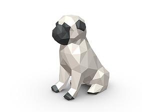 Pug Figure 3D printable model