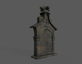 Tombstones Bloodborne Style 3D asset