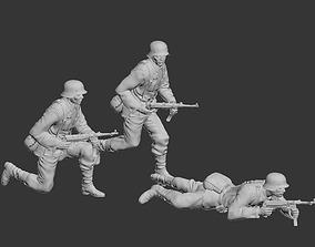 German soldier 3D printable model