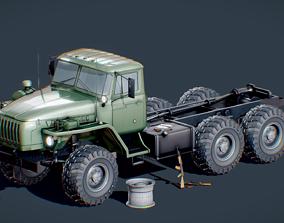 Russian Truck Ural 4320 Military Pack 3D
