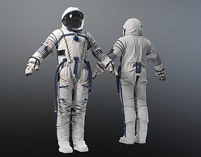 SPACESUIT Russian Sokol Kv2 3D