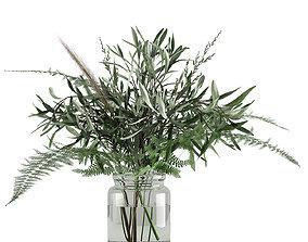 Spring Bouquet 3D model