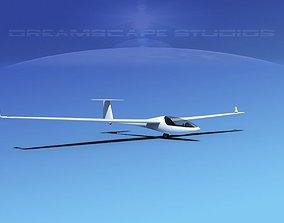 Glaser-Dirks DG-300 Glider Unmarked 3D model
