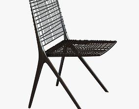 janus et cie branch side chair 3D