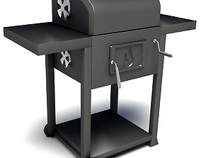 Char-Broil Performance 580 Charcoal Grill 3D model