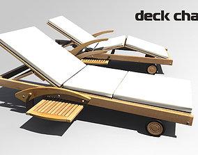 Deck chair 3D deck