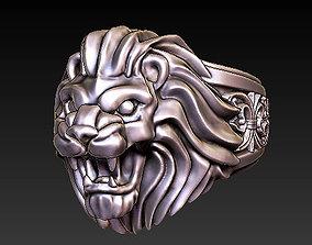 lion ring hiphop 3D print model