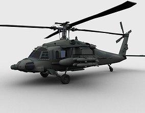 Blackhawk Helicopter 3D