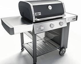 Grill BBQ Weber Genesis II 310 3D