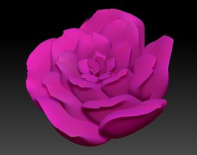mixer 3D model Silky Pink Rose