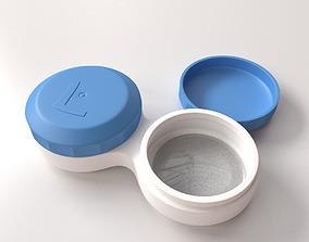 Contact Lense Case 3D model