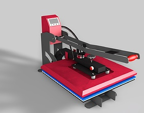 Sublimation T-Shirt flat bed Heat Press Machine 3D