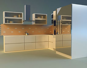 Kitchen room 3D model