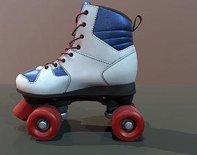 Roller Skate 3D asset
