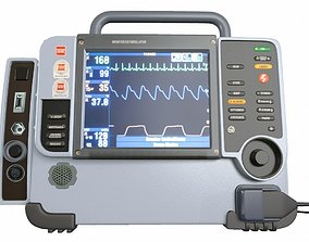 3D Defibrillator Medical