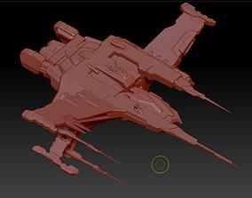 Raven 3D asset VR / AR ready