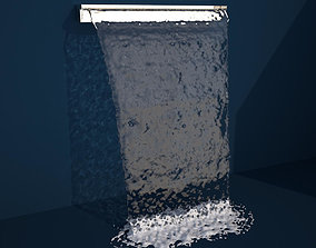 Standard Height Sheet Flow - OBJ Version 3D model