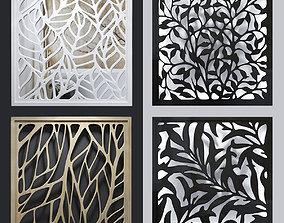 Quad decorative lattices 1 3D