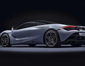 MC LAREN 720s CONCEPT CAR 3D model