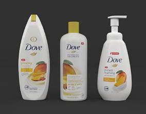 3D model mango Dove Body Wash