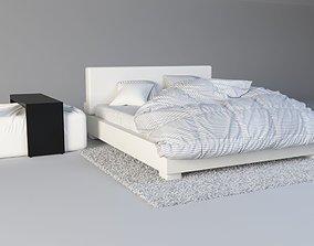Modern Bed Pack 3D model