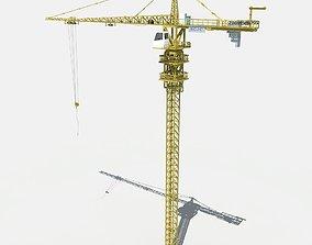 Tower Crane 3D model equipment