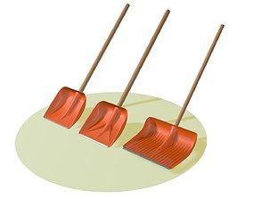 Shovels 3D model