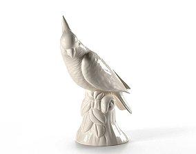 table Parrot Cockatoo Decoration 3D