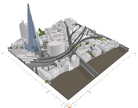 Free 3D Model of London - Sample of AccuCities Level 4 1