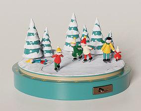 Christmas Carillon 3D asset realtime